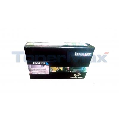 LEXMARK C534 RP TONER CART CYAN TAA 7K